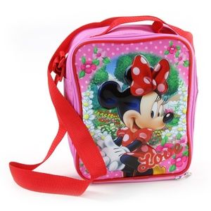 ✨Minnie Mouse Insulated Lunch Box w/Shoulder Strap